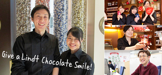 Give a Chocolate Smile!