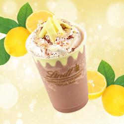 リンツ ミルクチョコレート レモン アイスドリンク