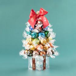 リンドール22種類50個で作るクリスマスツリー