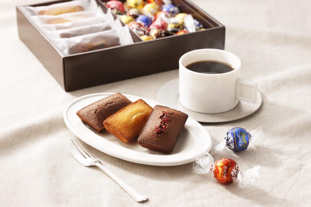 焼き菓子ギフトボックス(イメージ) フィナンシェ5個-リンドール20個