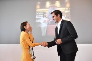 2017 Meet Roger Federer イベントの様子