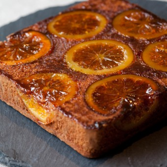 オレンジアーモンド チョコレートケーキ