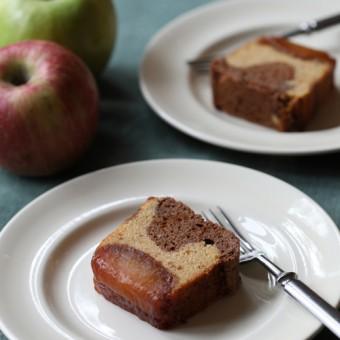 リンゴとキャラメルチョコレートのカトル・カール