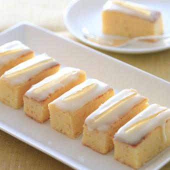 ホワイトチョコレートとレモンのウィークエンド・ケーキ
